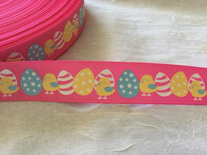 "Easter Pink 1"" Ribbon"