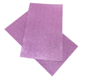 Superfine Glitter Faux Leather Sheet