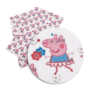 Peppa Pig Faux Leather Sheet