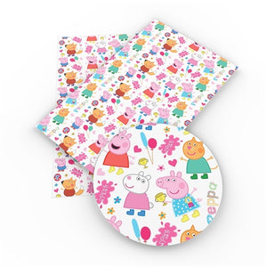Peppa Pig & Friends Faux Leather Sheet