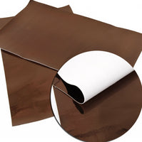Faux Leather Sheet: Mirror (Pack of 10)