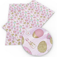 Easter Mix on Light Purple Faux Leather Sheet