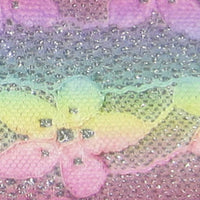 Pastel Glitter Lace Faux Leather Sheet