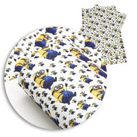 Minions Faux Leather Sheet
