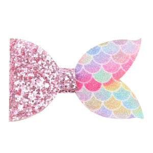Mermaid Tail Premade Bow