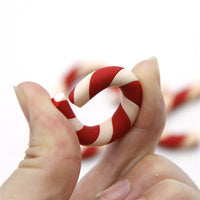 Polymer Clay Resin- CandyCanes