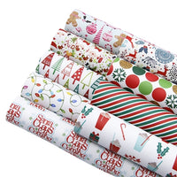 Christmas Designs #1 Faux Leather Full Sheet Pack of 9