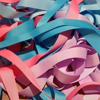 "Solid 3/8"" (9mm) Grosgrain Ribbons x 5 yards"