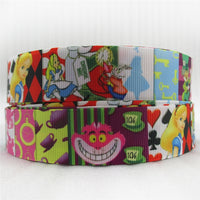 "Alice In Wonderland Patches 1"" Ribbon"