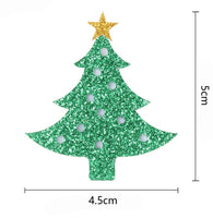 Christmas Tree Glitter Embellishment