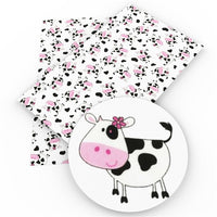 Cow Cutie Faux Leather Sheet