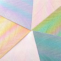 Iridescent Pearl A5 Sheet Faux Leather Pack of 6