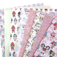LOL Dolls Faux Leather Full Sheet Pack of 8