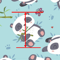 Pandas Faux Leather Sheet