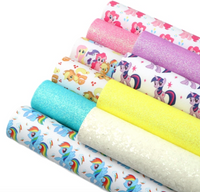 My Little Pony Faux Leather Full Sheet Pack of 10