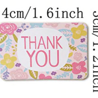 Sticker- Thank You Floral (90)