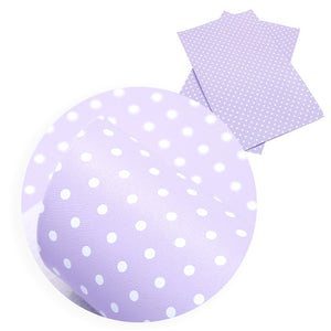 Spots Faux Leather Sheet