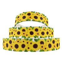 "Sunflowers 1"" Ribbon"