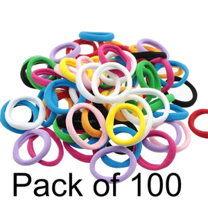 Nylon Hairties (100)