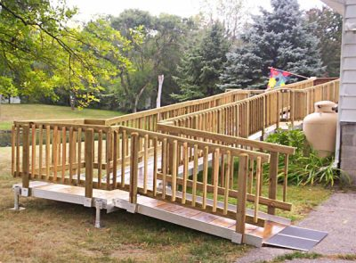 Custom Wheelchair Access Ramp