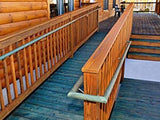 Custom Wood Porch, Stairs and Access Ramp