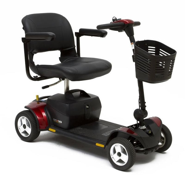 Pride Go Go Elite Traveler Plus: 4-Wheel Scooter