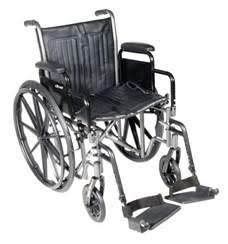 Manual Wheelchair with Footrests