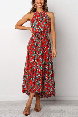 IceyChic Ditsy Floral Midi Dress (4 Colors)-IceyChic Fashion