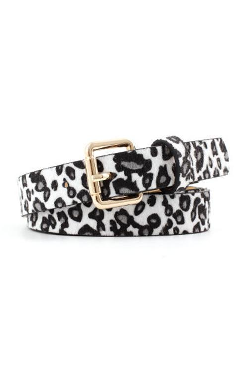 IceyChic Leopard Print Belt(6 Colors)-IceyChic Fashion