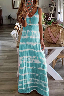 IceyChic Tie Dye Maxi Dress (7 Colors)-IceyChic Fashion