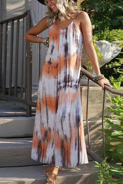 IceyChic Tie Dye Slip Midi Dress (3 Colors)-IceyChic Fashion