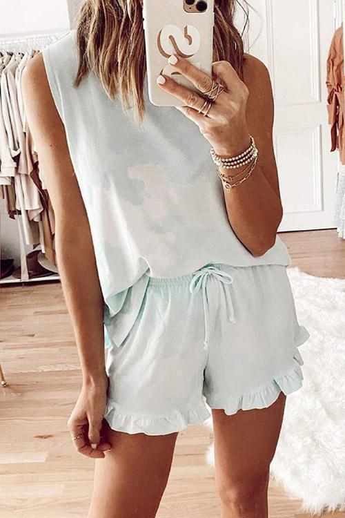IceyChic Tie Dye Top & Shorts Set (4 Colors)-IceyChic Fashion