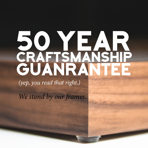 50 Year Craftsmanship Guarantee