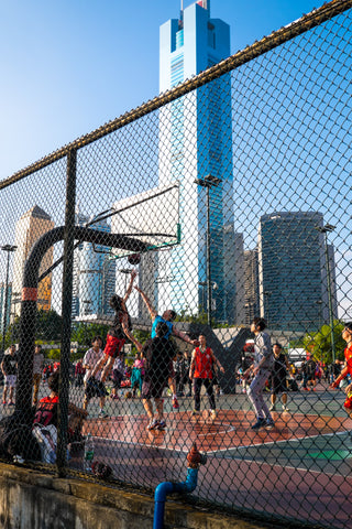 Basketball, Guangzhou, China