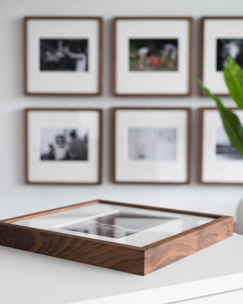 Gallery Wall Heirloom Walnut Frames