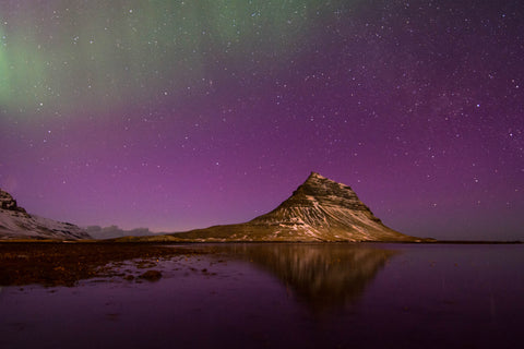 Icelands northern lights by David Rathbone