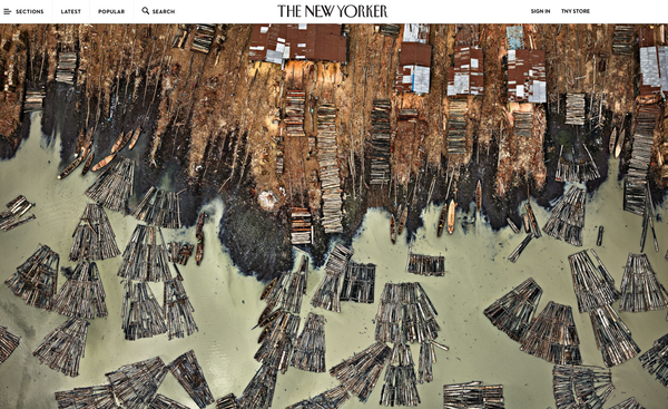 The New Yorker Edward Burtynksy