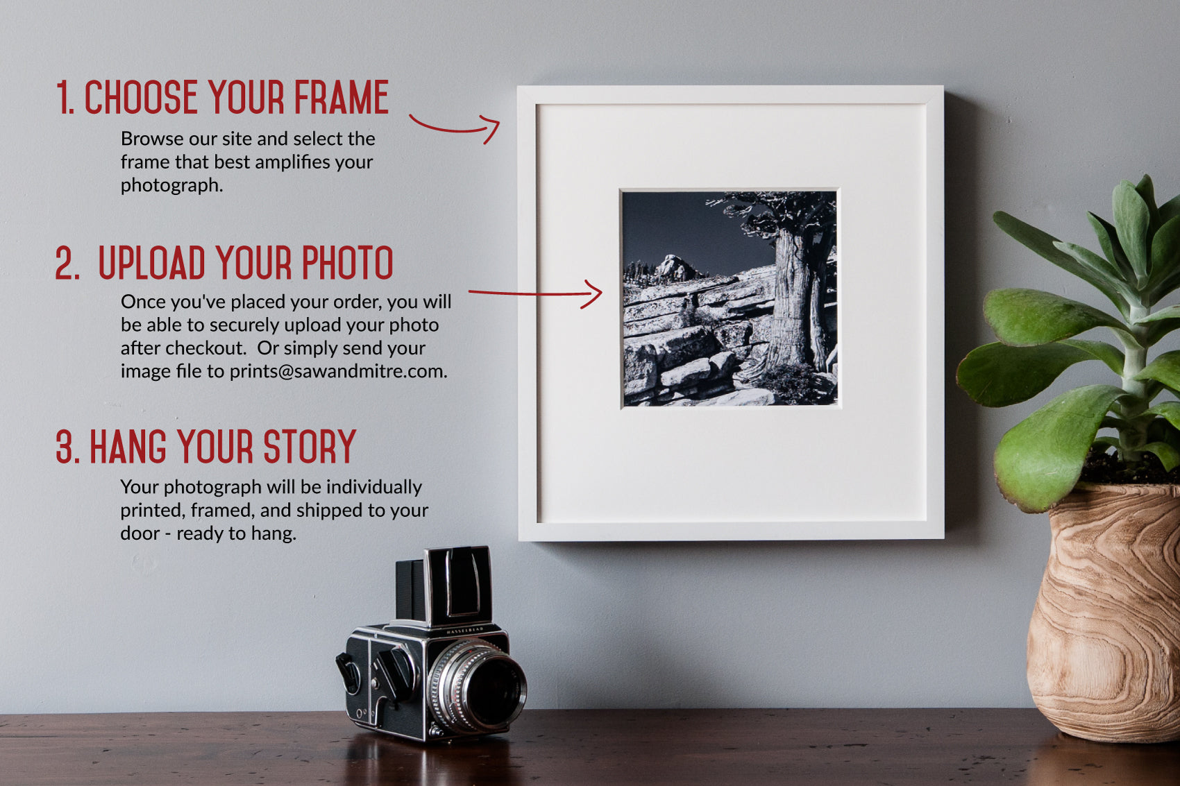 How We Make Gallery Framing Simple | Saw & Mitre Frame Company