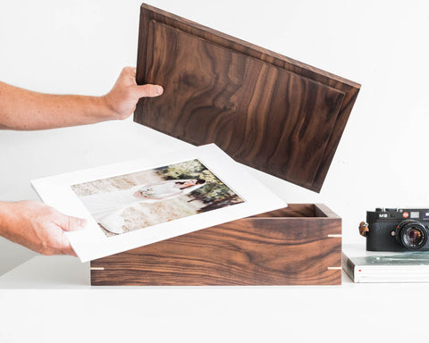 Walnut Portfolio Box