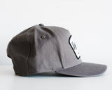 The Cotton Twill Workshop Hat in Charcoal Gray