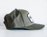 The Cotton Twill Workshop Hat in Olive Green