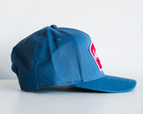 The Cotton Twill Workshop Hat in Cobalt Blue