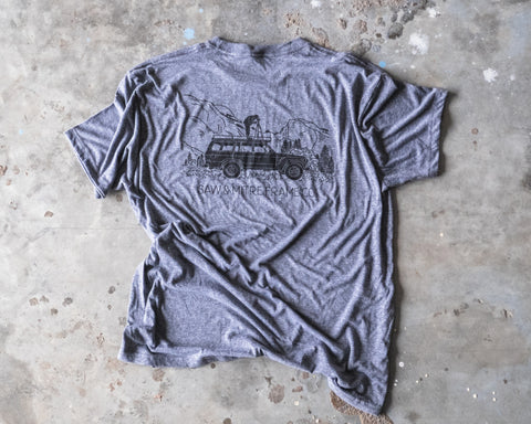 The Cruiser Tee by Saw & Mitre Frame Co.