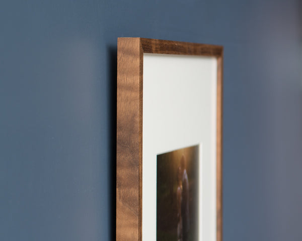 Custom Picture Frame in Walnut