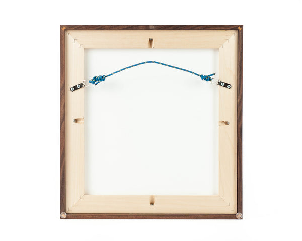 Back view of Heirloom Collection custom picture frame.