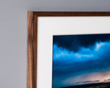 Saw & Mitre Frame Company Heirloom Frame Collection in Walnut