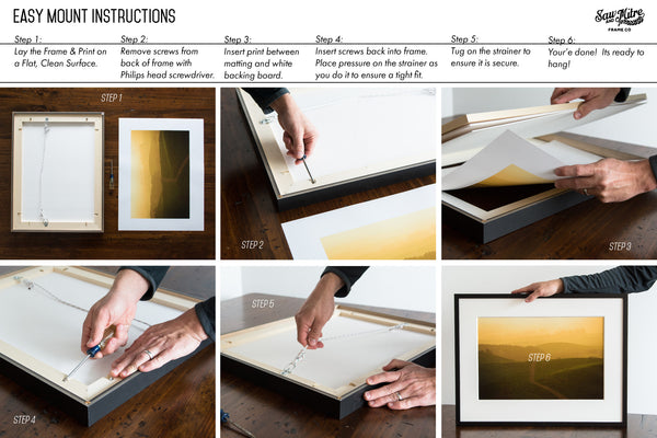 Easy-Mount Replacement Prints | Heirloom Collection