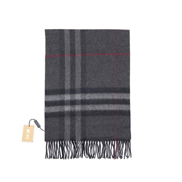 BURBERRY The Classic Check Cashmere Scarf - EMIER