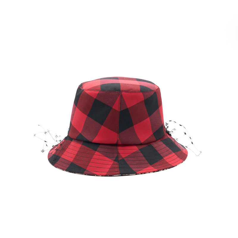 Dior Hat Red/ Black Size 58