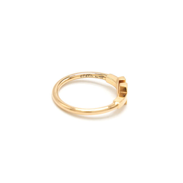 Tiffany T Ring Rosegold size US 6